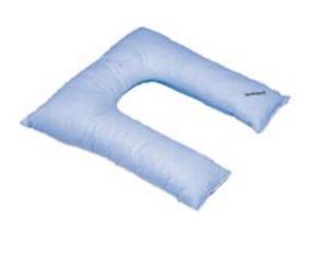 cuscino in fibra cava siliconata a ferro di cavallo codice a16