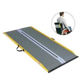 rampa per carrozzina ultraleggera