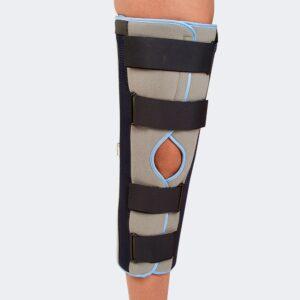tutore immobilizzatore fisso di ginocchio