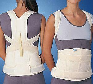 tutore taylor per sostegno lombare vertebrale con spallacci