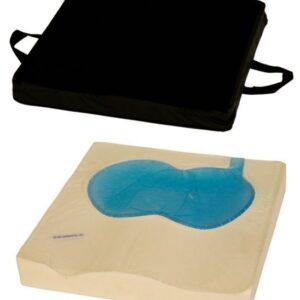 cuscino con base anatomica preformata e fluido automodellante codice 003g
