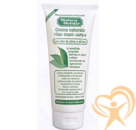 crema nmaturale bio per viso mani corpo
