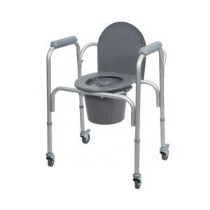 sedia comoda con ruote termigea codice ba32