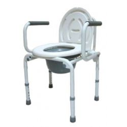 sedia comoda termigea con braccioli ribaltabili codice ba15