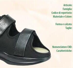 calzatura per piede diabetico meldola