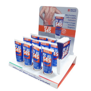 crema con oli essenziali per massaggio