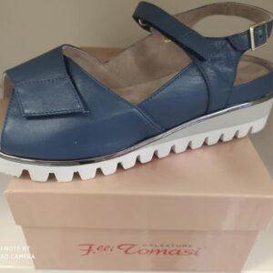 Sandali Fratelli Tomasi blu