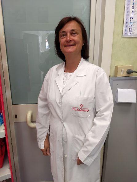 Impiegata Paola Pendinelli Laboratorio Ortopedico Flaminio