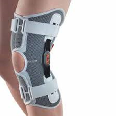 Si indossa per sfiammare il dolore all'altezza della rotula e del ginocchio